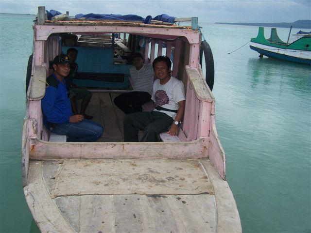 Perahu motor Kapota